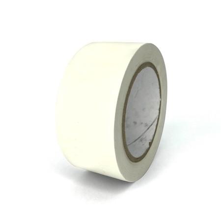 Podlahová páska TMF06 bílá 50 mm, délka 30 m