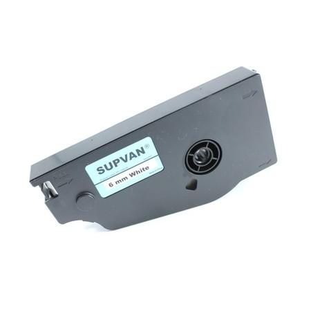 Štítková páska TP-L06EW bílá, 6 mm x 16 m