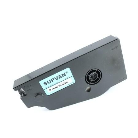 Štítková páska TP-L09EW bílá, 9 mm x 16 m