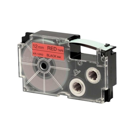 Páska XR-12RD1 červená/černá, 12 mm x 8 m