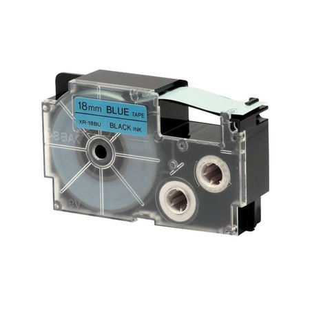 Páska XR-18BU1 modrá/černá, 18 mm x 8 m