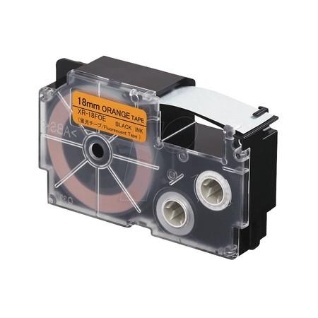 Páska XR-18FOE signální oranžová/černá, 18 mm x 5.5 m