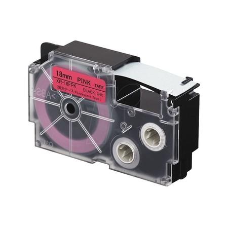 Páska XR-18FPK1 signální růžová/černá, 18 mm x 5.5 m