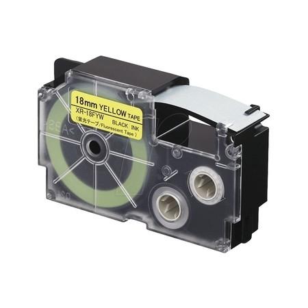 Páska XR-18FYW1 signální žlutá/černá, 18 mm x 5.5 m