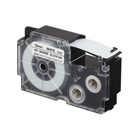 Páska XR-18GX1 průhl/černá, 18 mm 5.5 m, silné lepidlo