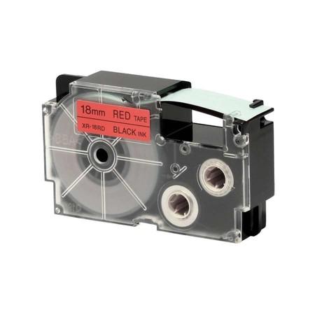Páska XR-18RD1 červená/černá, 18 mm x 8 m