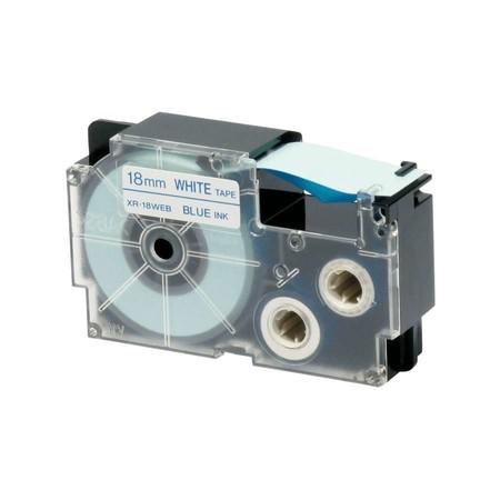 PáskaXR-18WEB1 bílá/modrá, 18 mm x 8 m