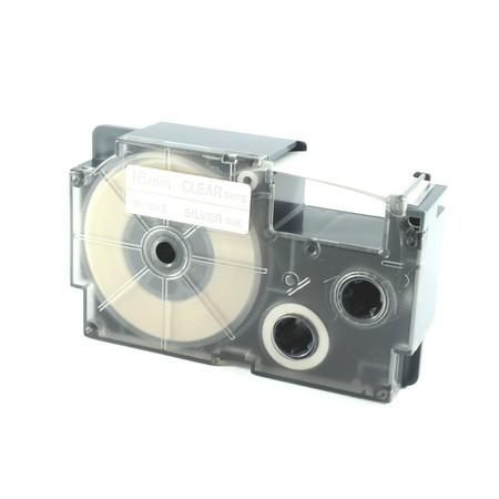 Páska XR-18XS1 průhledná/stříbrná, 18 mm x 8 m