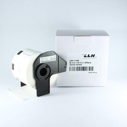 Papírové štítky ADK11209, 62x29 mm, 800 ks