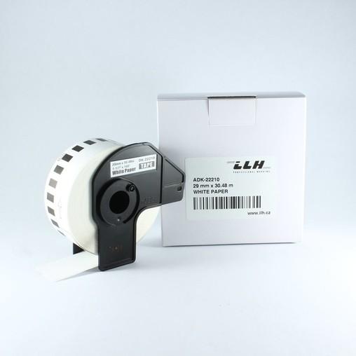 Papírová role ADK22210, šířka 29 mm