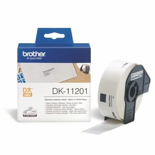 Papírové štítky Brother DK11201, 29x90 mm, 400 ks