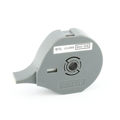 Štítková páska LS-09W bílá, 9 mm x 8 m