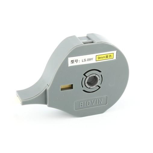 Štítková páska LS-09Y žlutá, 9 mm x 6 m