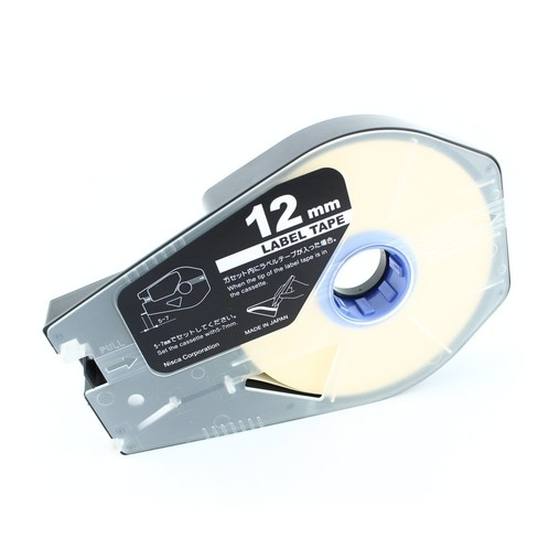 Štítková páska LT-12B bílá, 12 mm x 30 m
