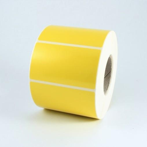 Papírové štítky žluté 60x30 mm, 2000 ks