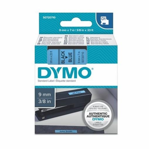 Páska Dymo S0720710 modrá/černý tisk, 9 mm