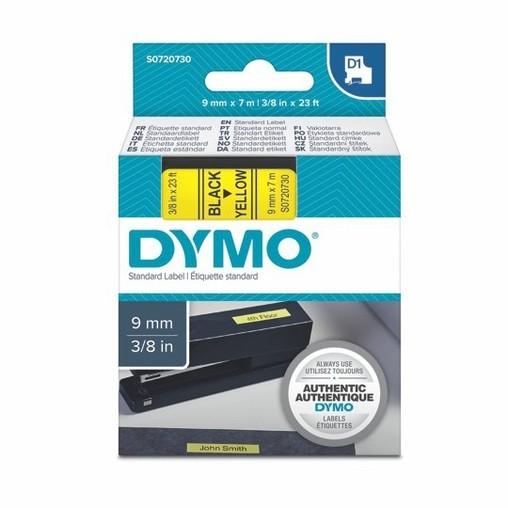 Páska Dymo S0720730 žlutá/černý tisk, 9 mm