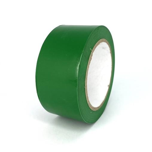 Podlahová páska TMF02 zelená 50 mm, délka 30 m